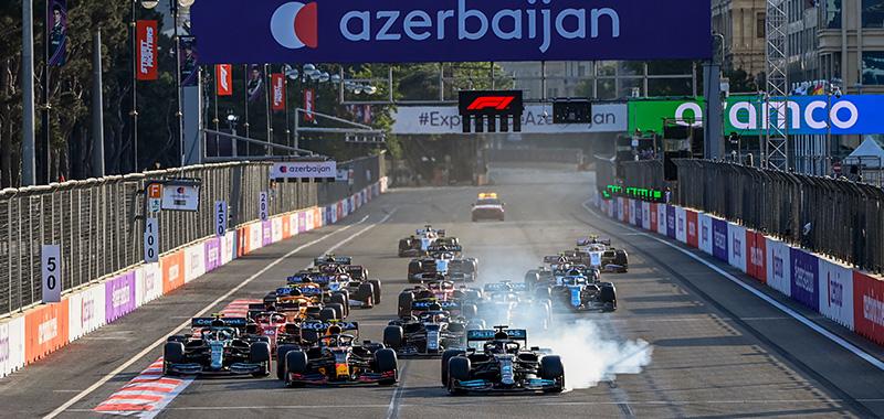 FORMULA 1 GRAN PREMIO DE AZERBAIJAN 2021